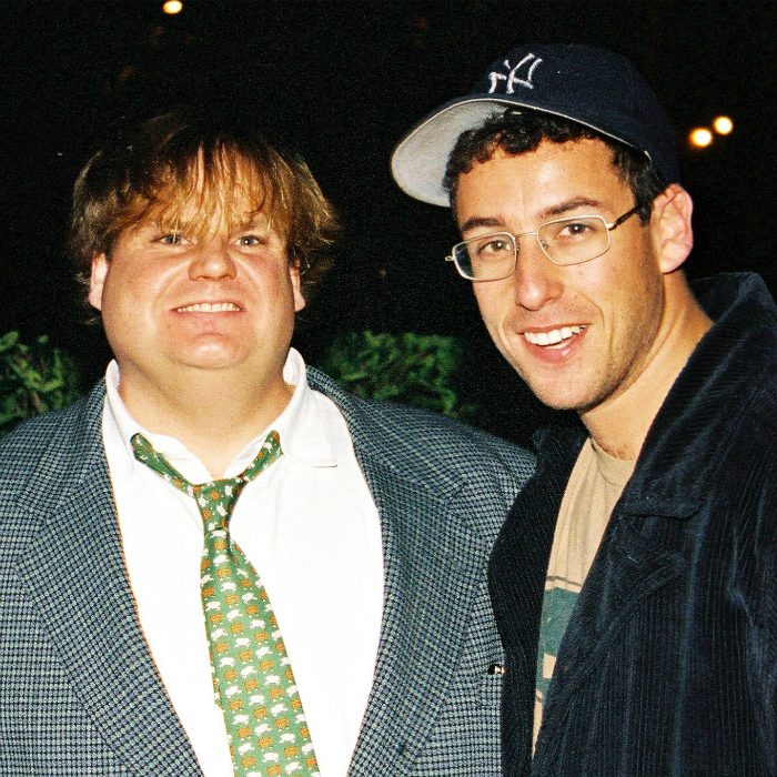 SNL's Adam Sandler Brought On The Tears With Tribute To Chris Farley