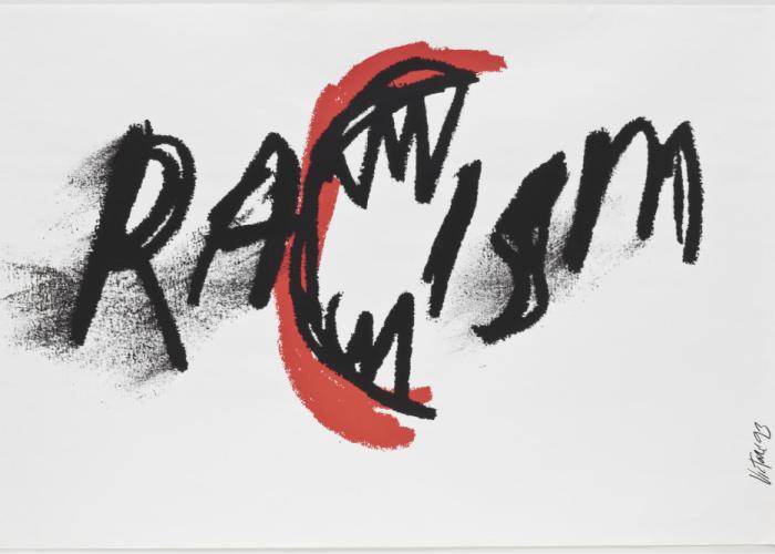 James Victore. Racism. 1993