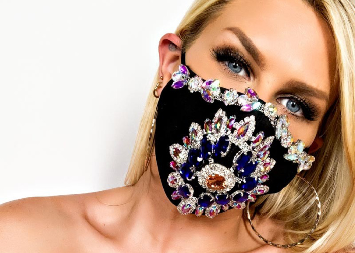 When It Comes To Wearing Masks, Either Go Big - Or Stay Home!